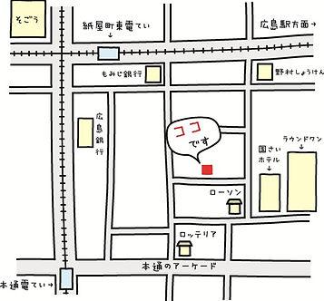 ユキボウシの地図