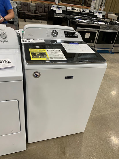 Maytag 5.2 CF Top Load Washer White- 94873