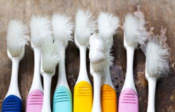 How much brushing is too much brushing?