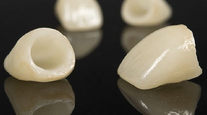 Imax Ceramic is used for dental crowns and some bridges.