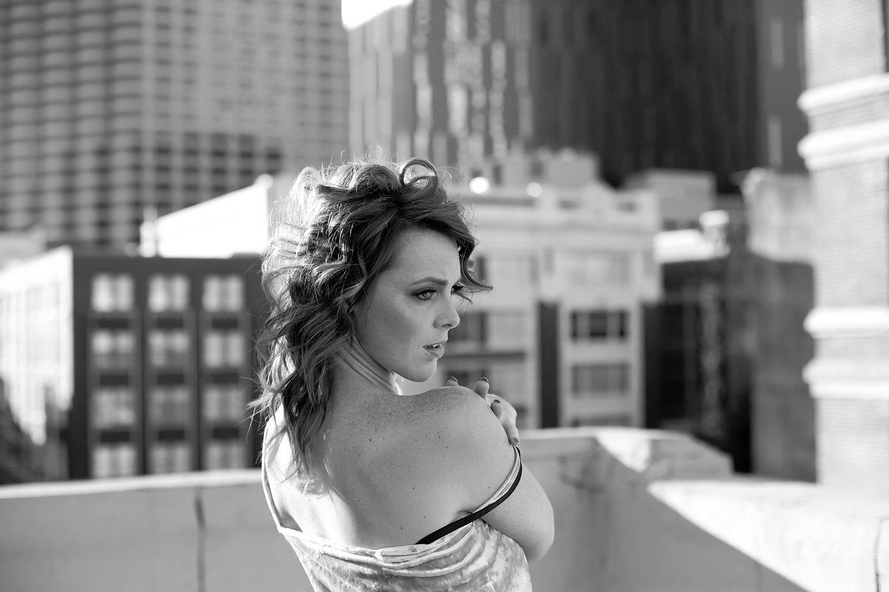 Lacey Broussard black & white 1
