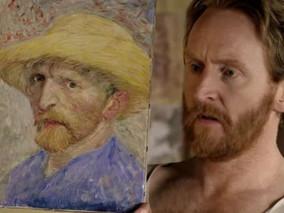Van Gogh em sua própria exposição