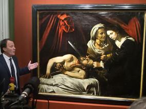 Considerada a última obra de Caravaggio, pintura polêmica é apresentada em Londres