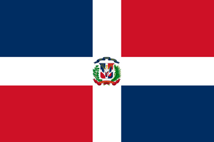 Current flag of the Dominican Republic