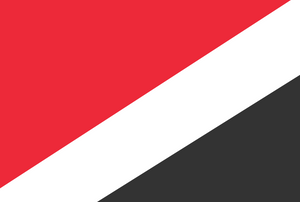 Current flag of the Principality of Sealand