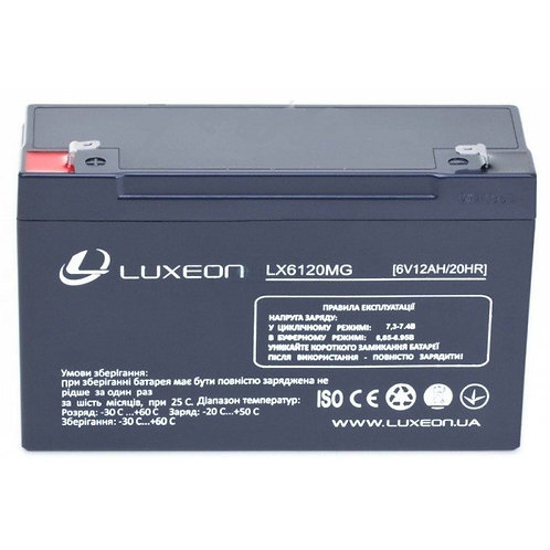 Аккумуляторы 6 вольт, емкостью 12 Ач