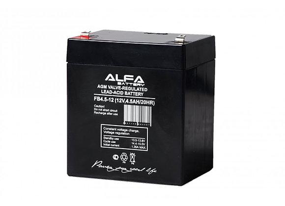 АКБ-4.5 аккумулятор 12В на 4,5А/ч