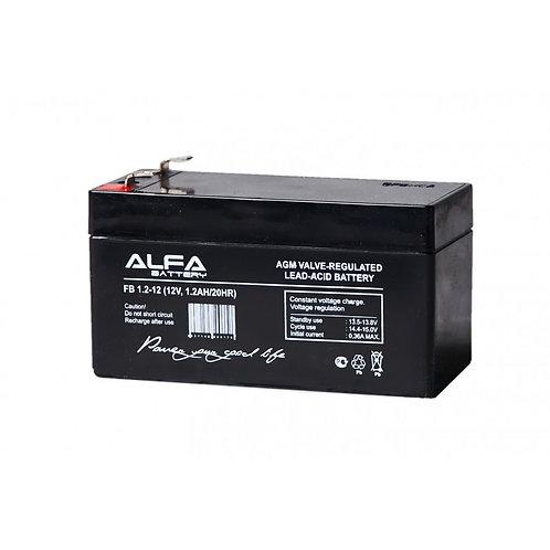 АКБ-1,2 аккумулятор 12В на 1,2А/ч