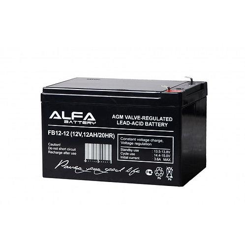 АКБ-12 аккумулятор 12В на 12А/ч