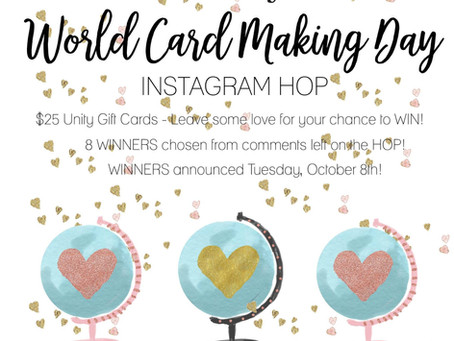 World Card Making Day!