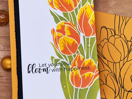 Layering Tulips