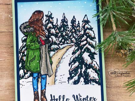 Creating a Wintery Scene