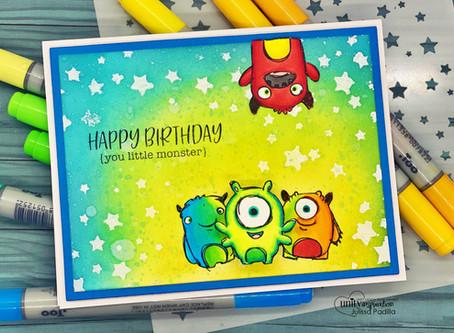 Happy Birthday, Little Monster!