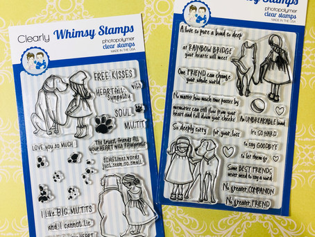 Clearly, I Love Whimsy Stamps!