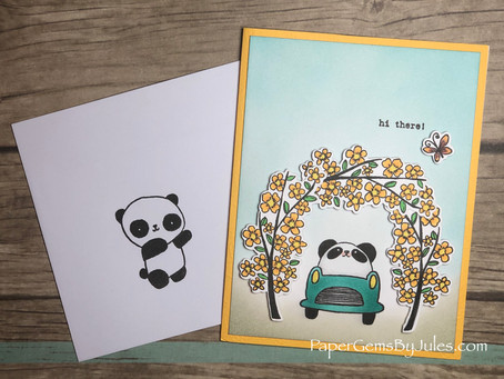 Hi There, Panda! (Repost for CraftyDoodleChick.com Blog)