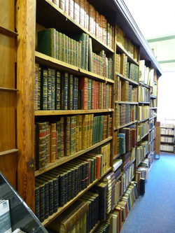 Ground Floor Leather Bound Volumes