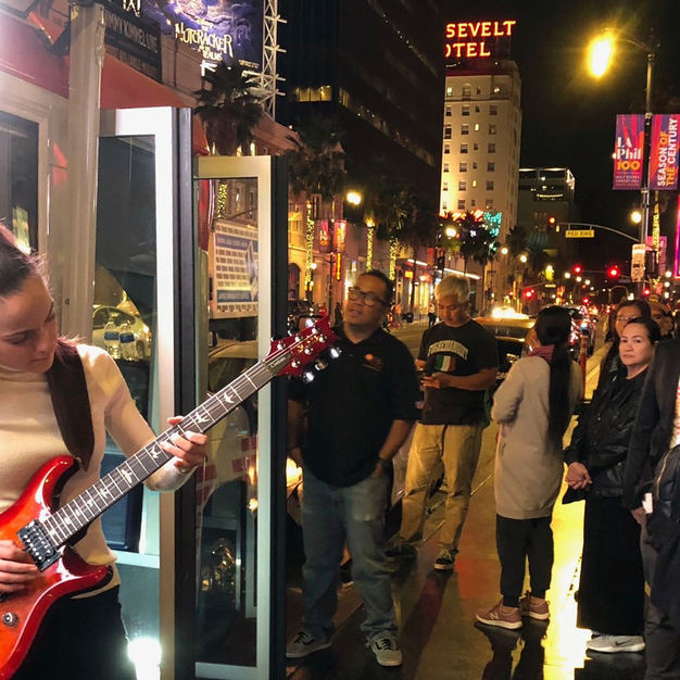 Eva - Interview & Performance on WISH 107.5, at Hollywood Blvd