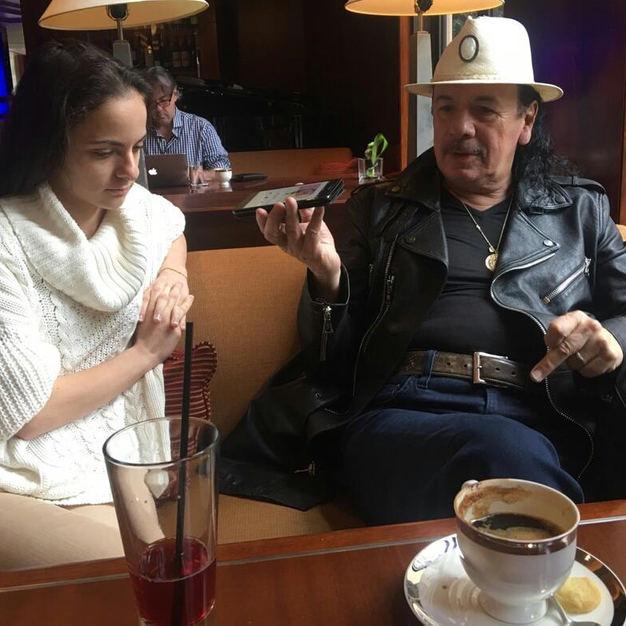 Ms Eva Kourtes & Mr Carlos Santana