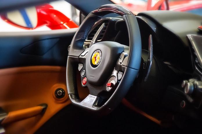 Interior Ferrari F488 Spider