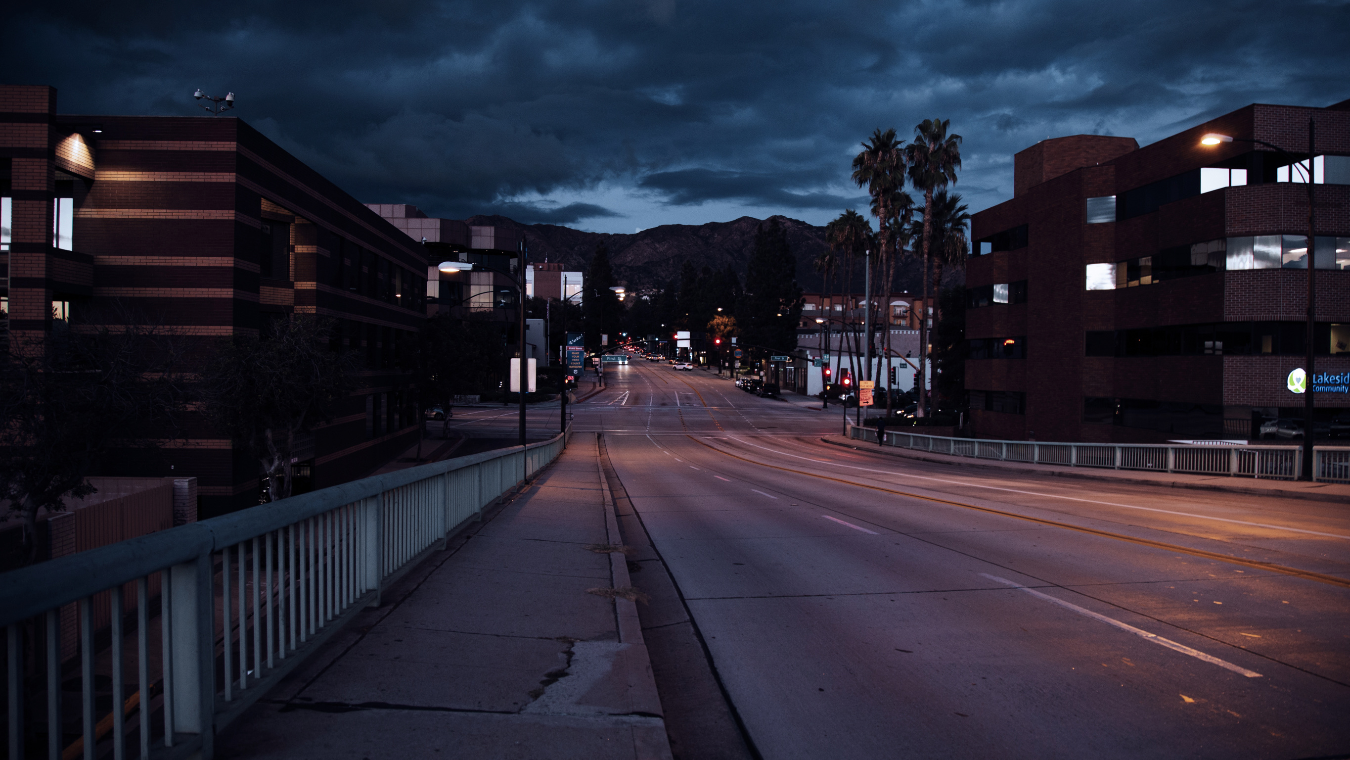 Nightfall in Burbank
