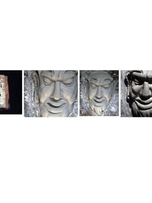 Sculpture masques