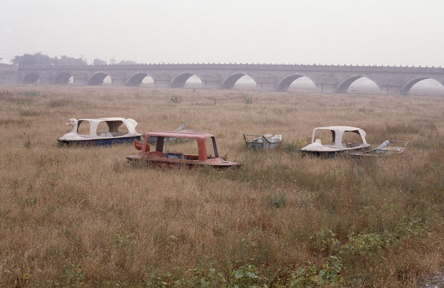 Lugou [Marco Polo] Bridge and Yongding River