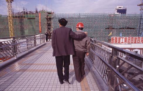 """""""One day, my son…"""", Urumqi"""