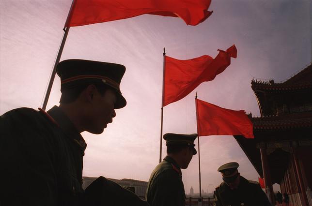 Atop Tian'anmen Gate