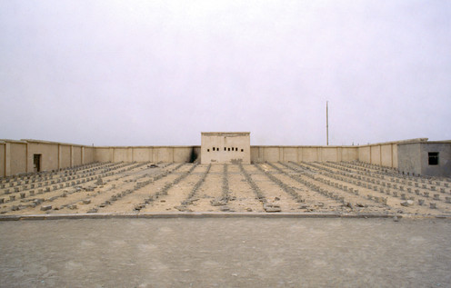 Open-air cinema/theatre, 504 small arms factory, Korla