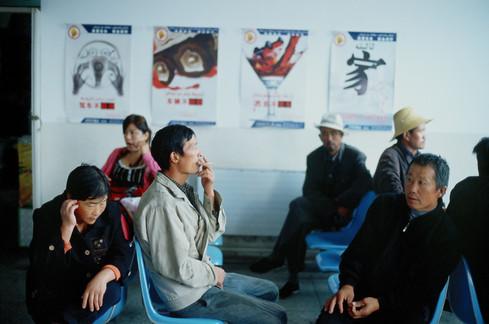 Bus station, North Xinjiang