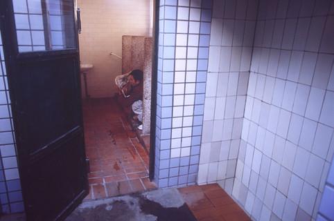 Alleyway toilet