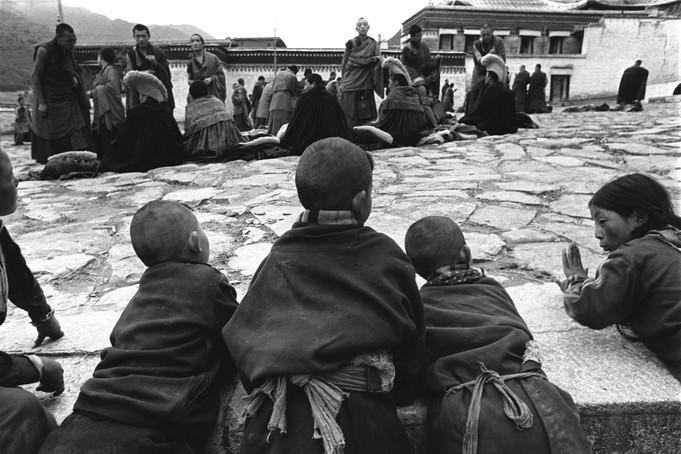 Inside Labulang Monastery, Gansu