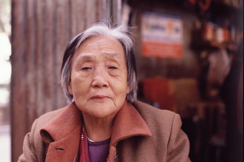 Retired bingtuan worker