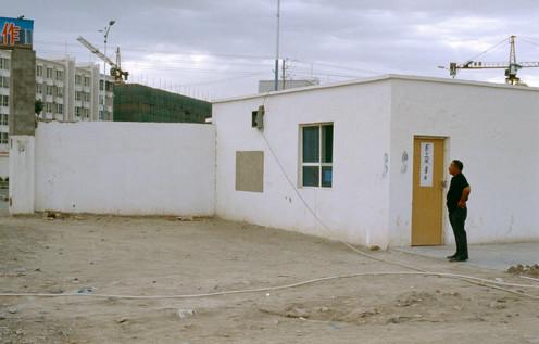 Construction site, Korla