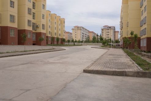 Apartment complex, Korla Economic Technology Development Zone