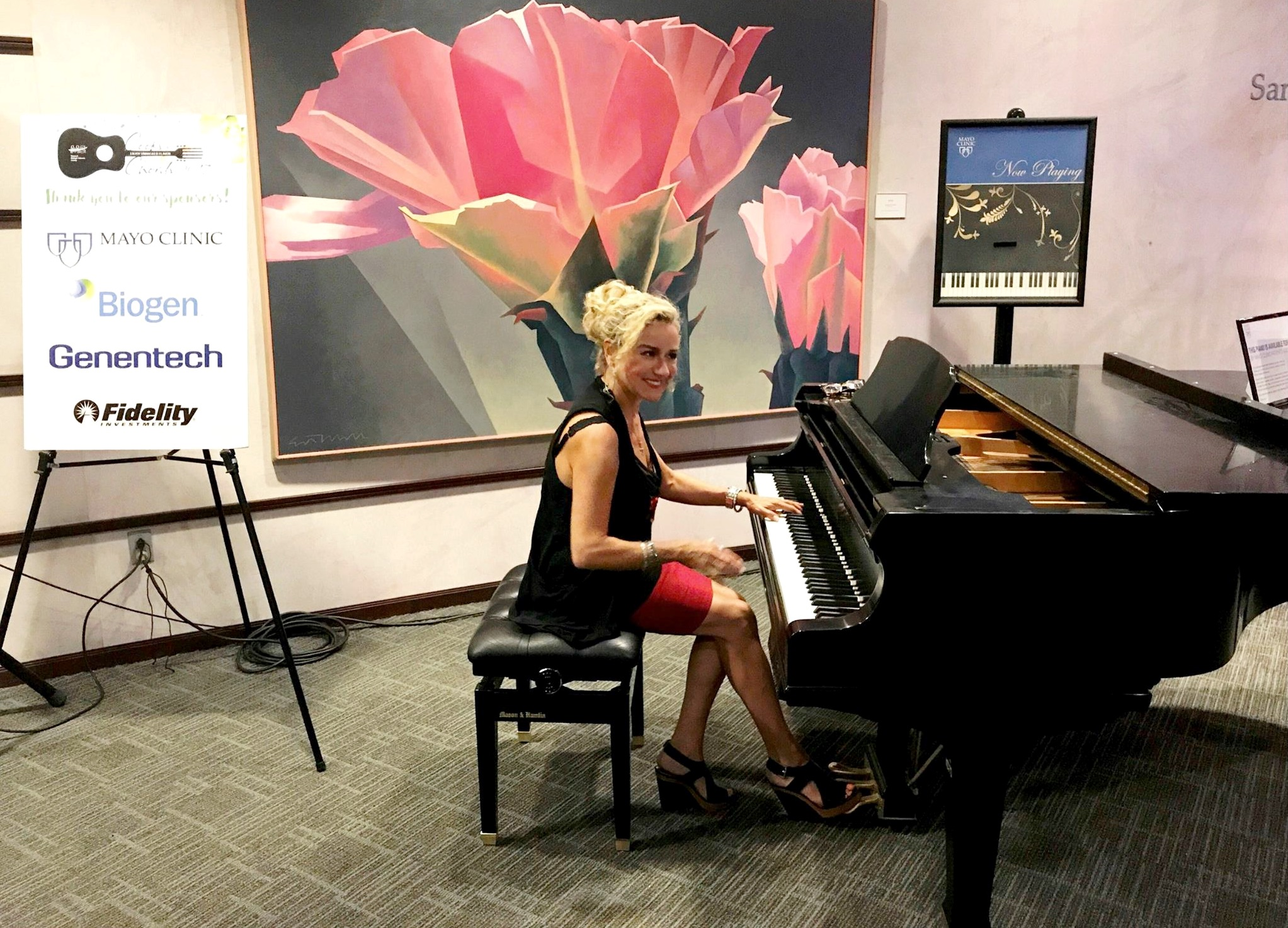 Performing at Mayo Clinic in Scottsdale