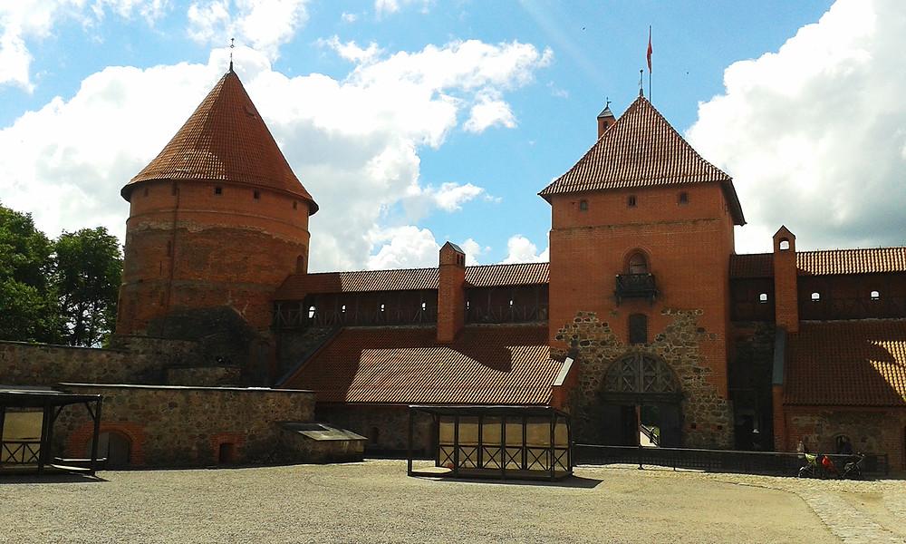Castillo en Trakkai