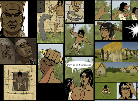 "About my comics ""The ruler and the Leopard"""