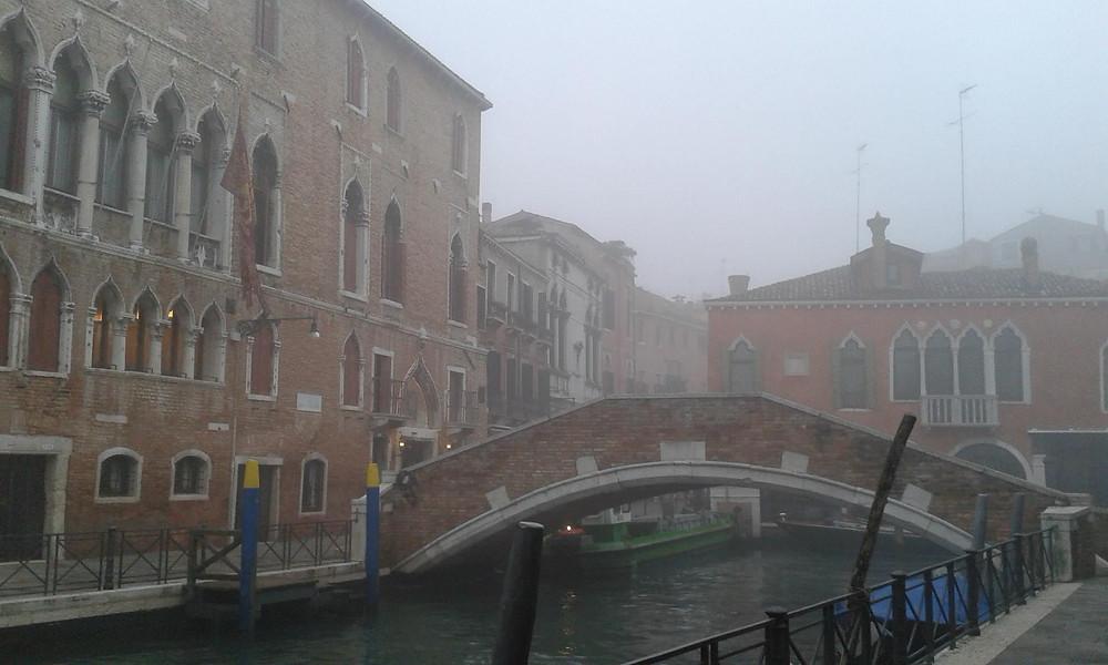Frío en Venecia