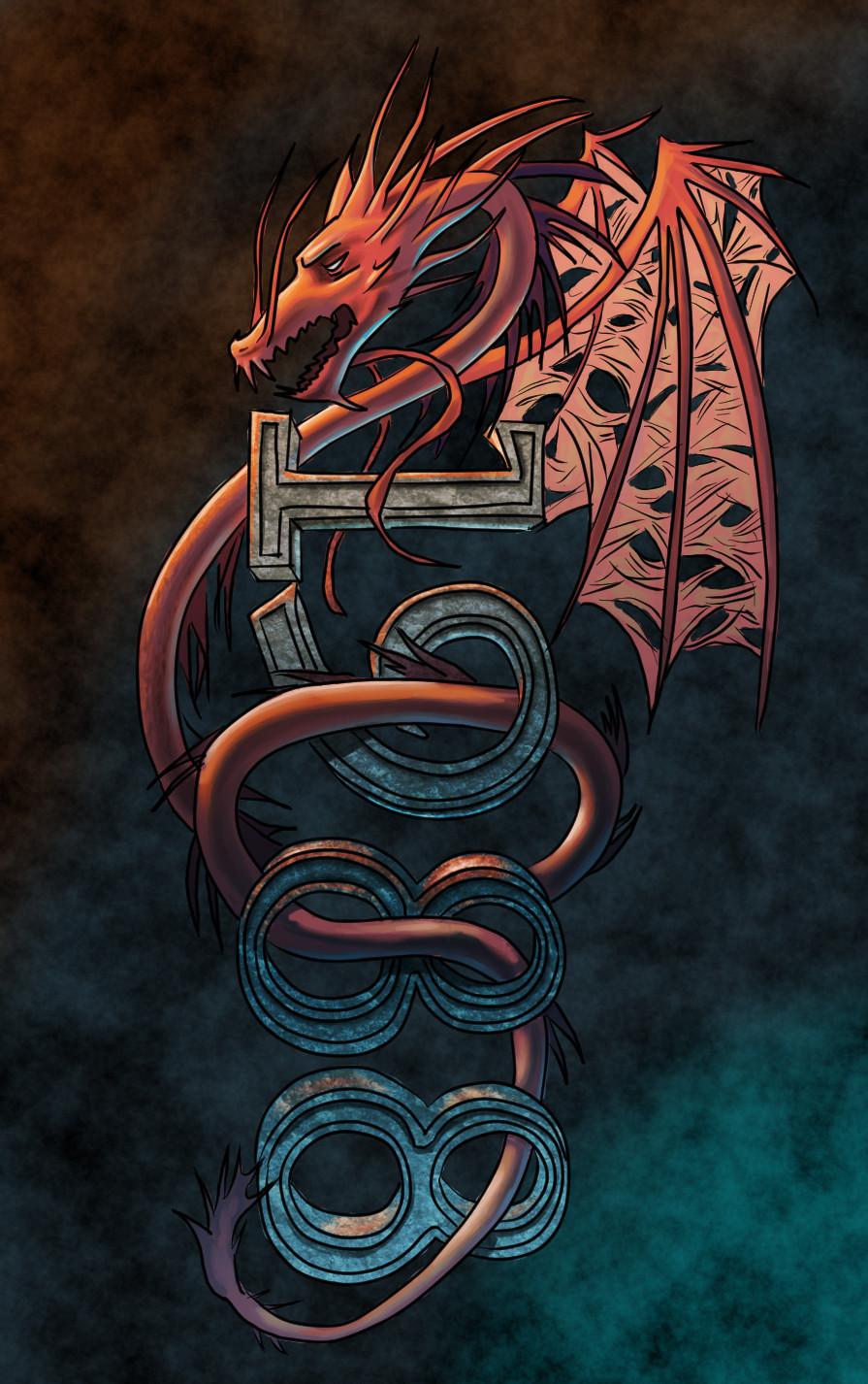 1988 dragon tattoo