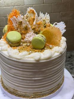 Pitachio Knafe Cake