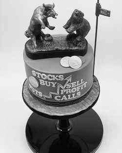 Stock market cake MONO