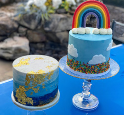 Blue Baby Shower Cakes