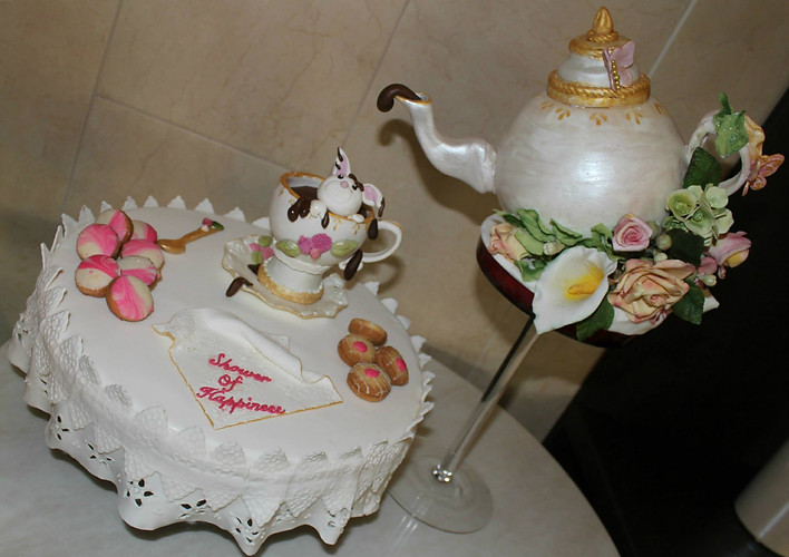 Once Upon a cake Bridal shower