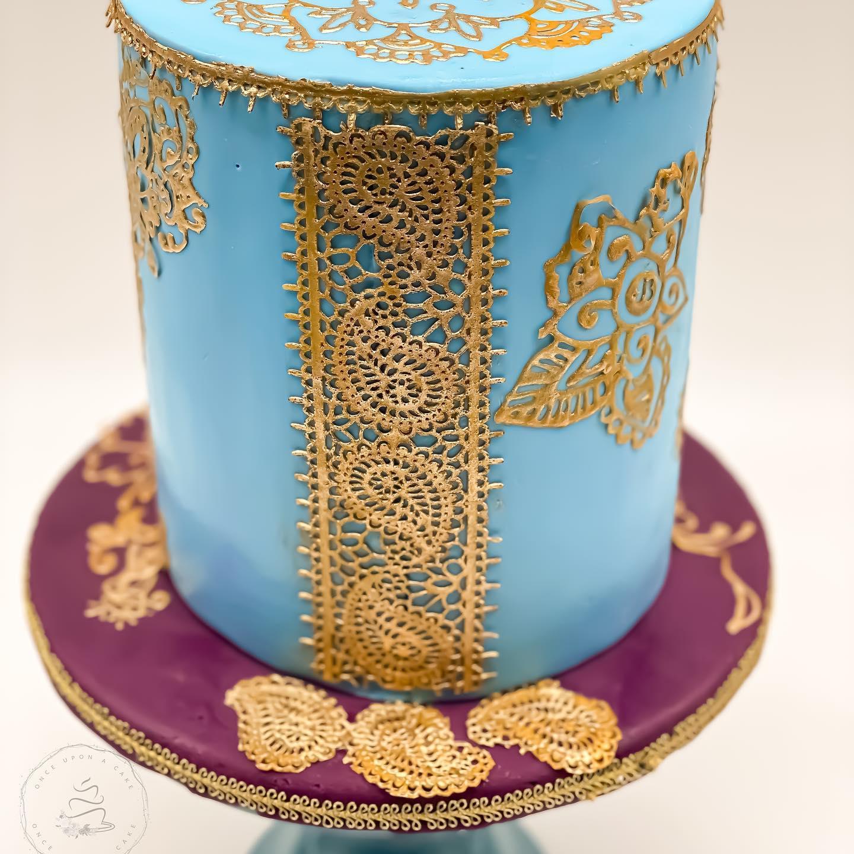 Indian Cake back side