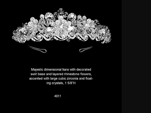 4011 Crystal Tiara