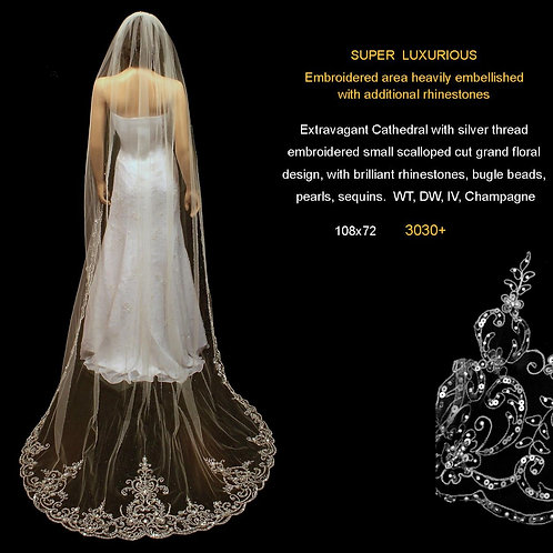 Cathedral Length Veil