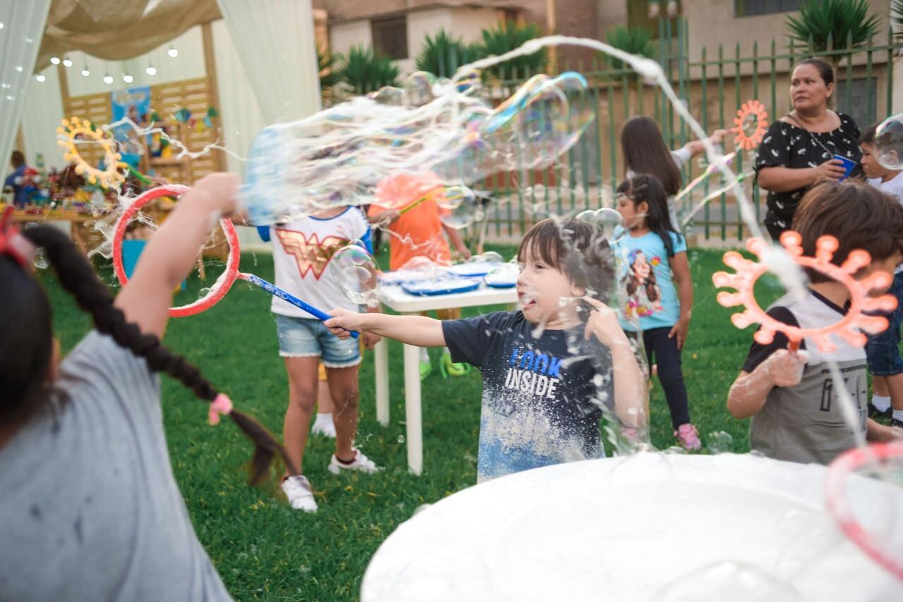 Creación de sus propias burbujas