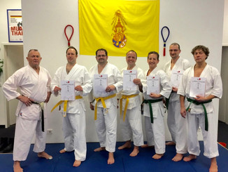 Karate Prüfung