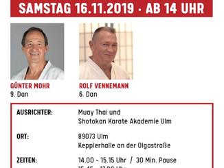 Eine Legende kommt nach Ulm